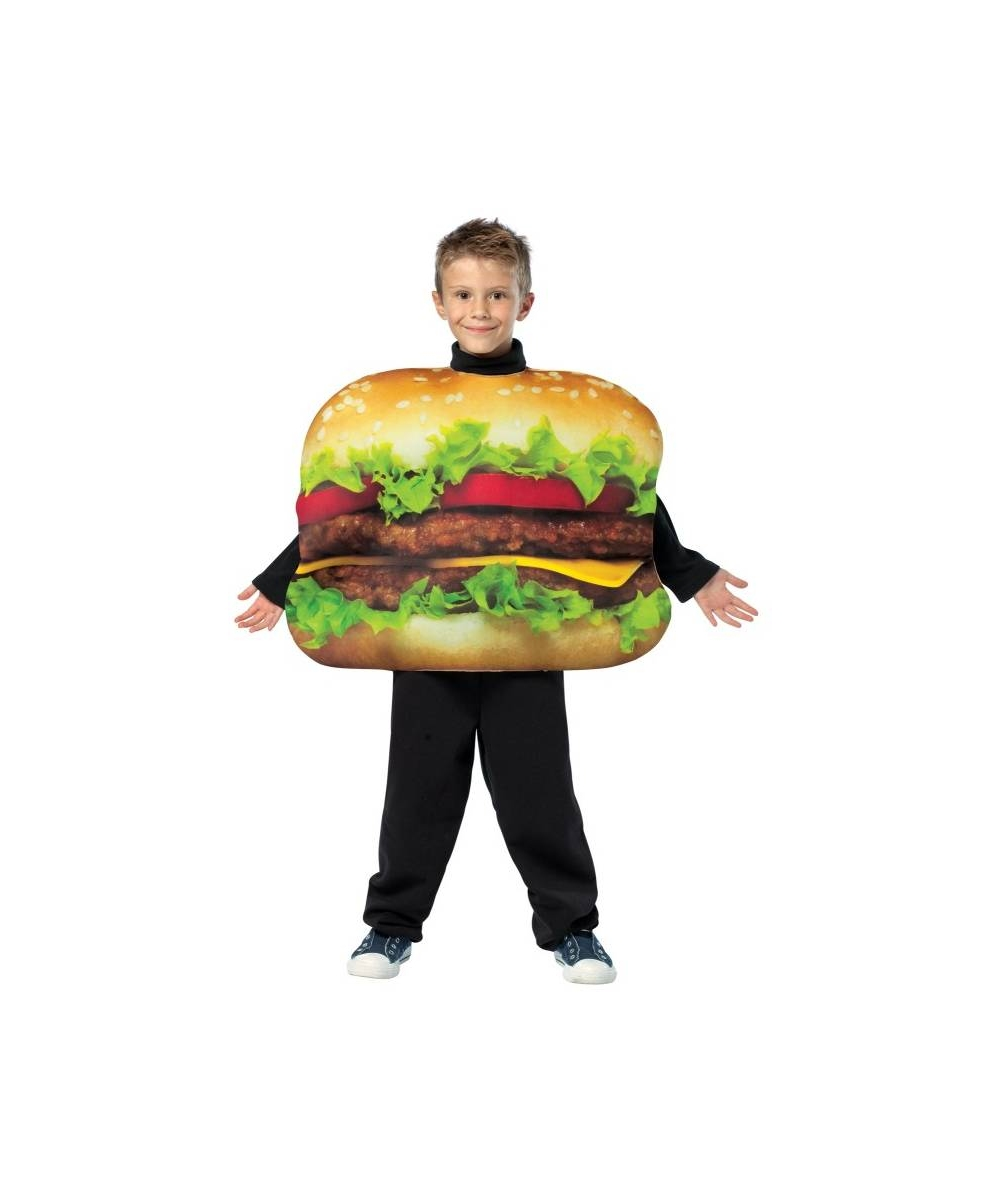 cheeseburger kids halloween costume boys costume