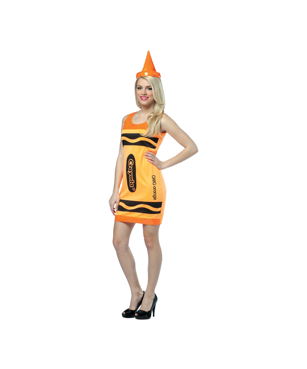 Crayola Neon Orange Costume