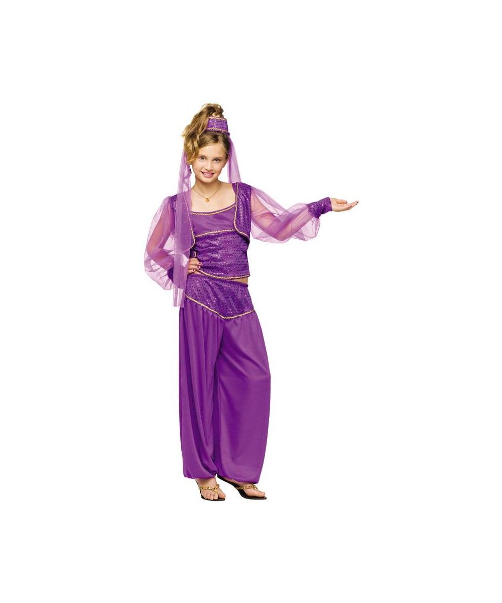 Dreamy Genie Girl Costume Girl Arabian Costume Jasmin
