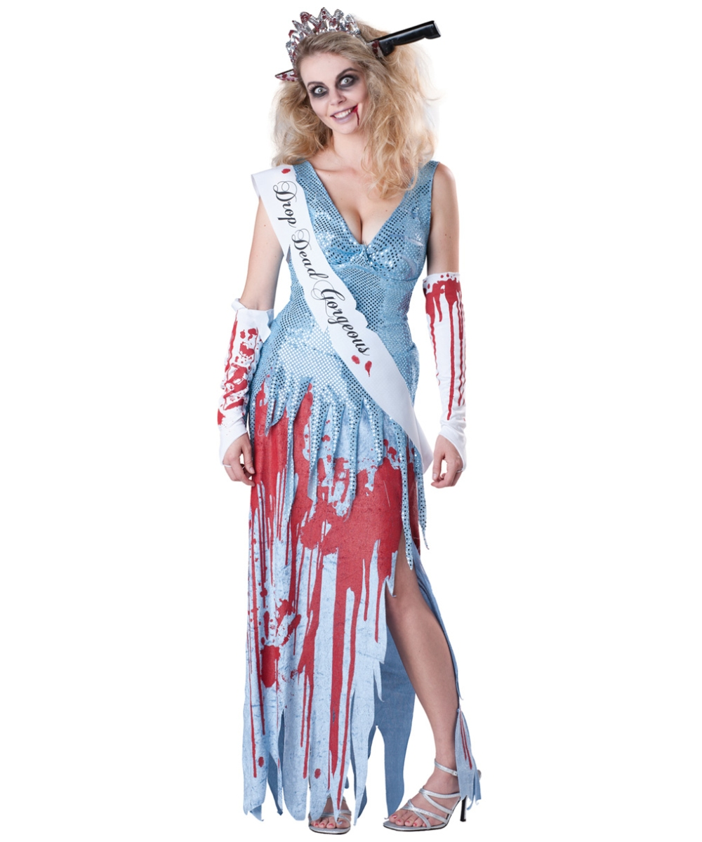 Zombie Scary Halloween Adult Costume - Women s Costumes e785b94200