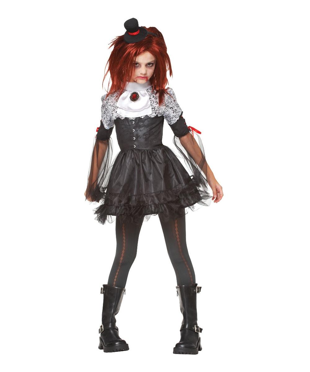 Edgy Vamp Kids Vampire Halloween Costume