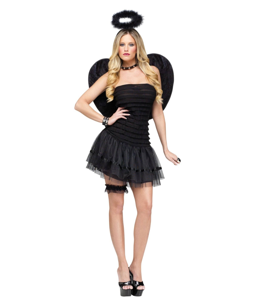 adult fallen angel halloween costume angel costumes. Black Bedroom Furniture Sets. Home Design Ideas