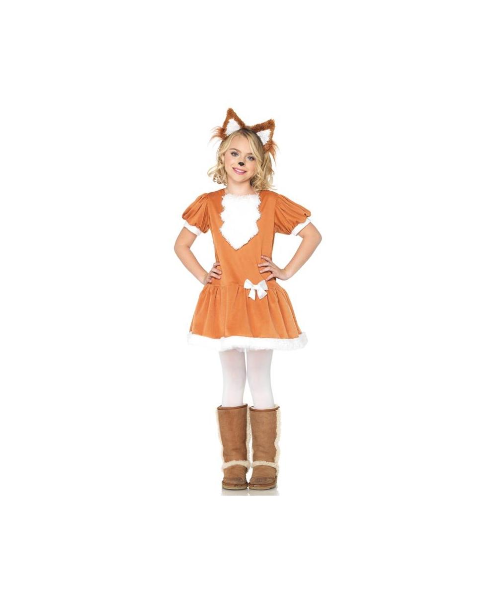 sc 1 st  Wonder Costumes & Feisty Fox Girl Costume - Girl Costumes