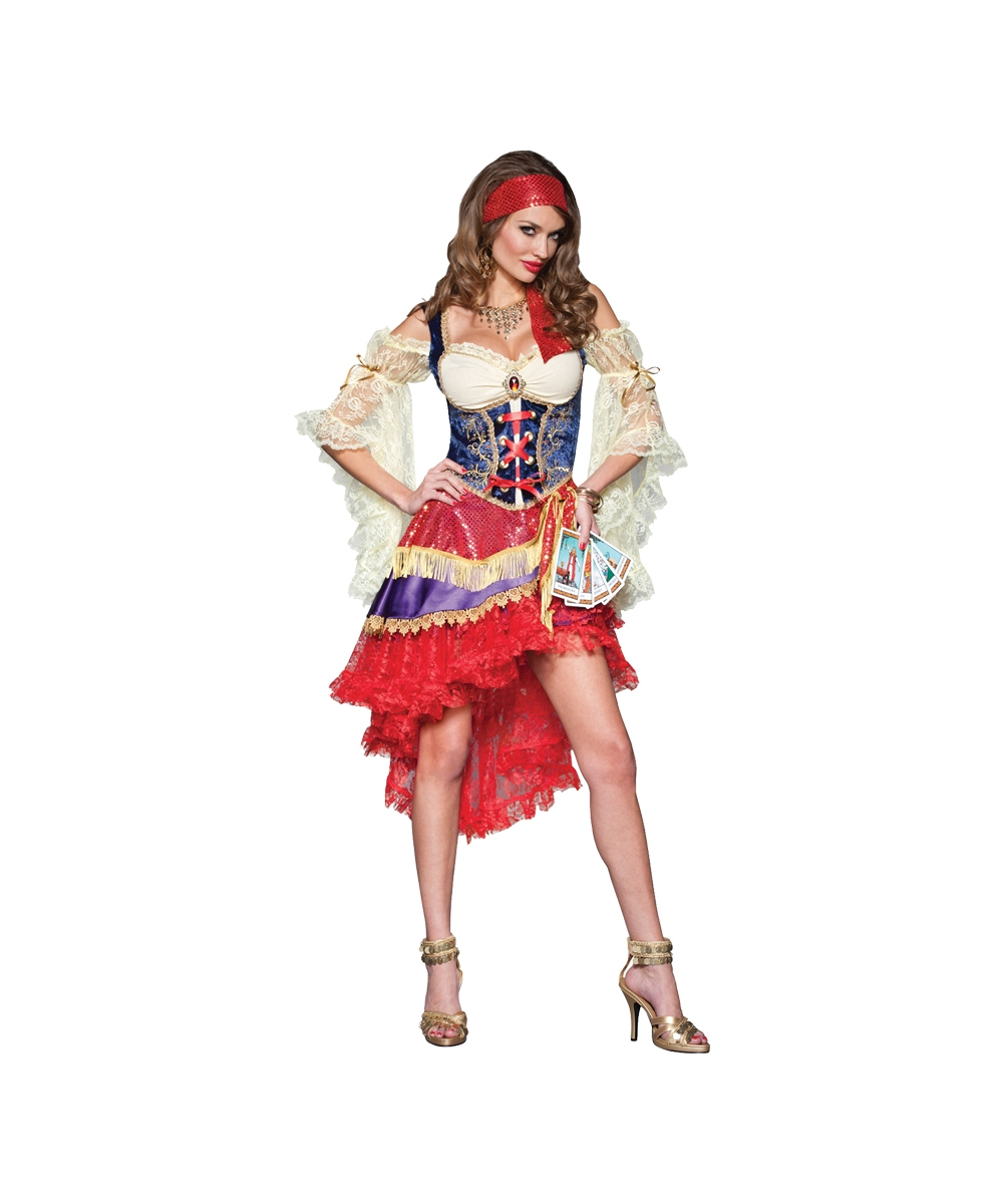 adult good fortune gypsy sexy costume women costumes