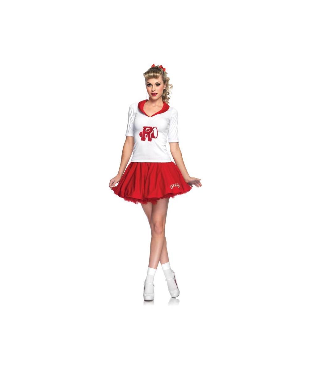4154985db71 Cheerleader Grease Rydell High Adult Costume - Women Cheerleader Costumes