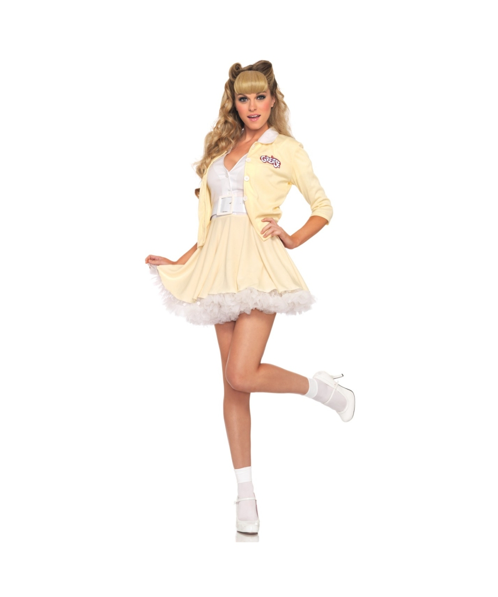 sc 1 st  Wonder Costumes & Adult Grease Good Sandy Movie Halloween Costume - Movie Costumes