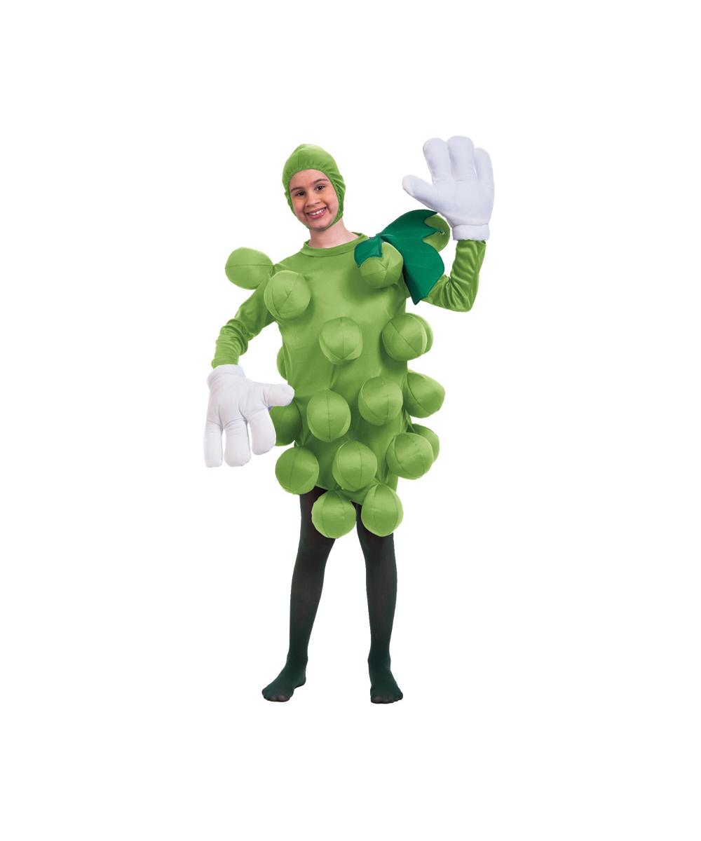 829d7b541d2b09 Grape Green Kids Costume - Grape Costumes