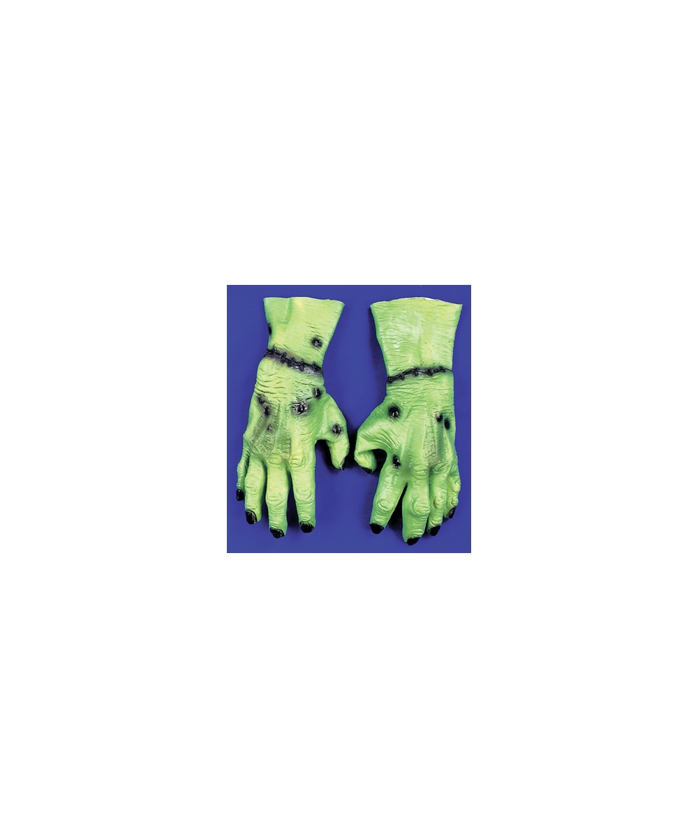 Green Monster Hands Gloves