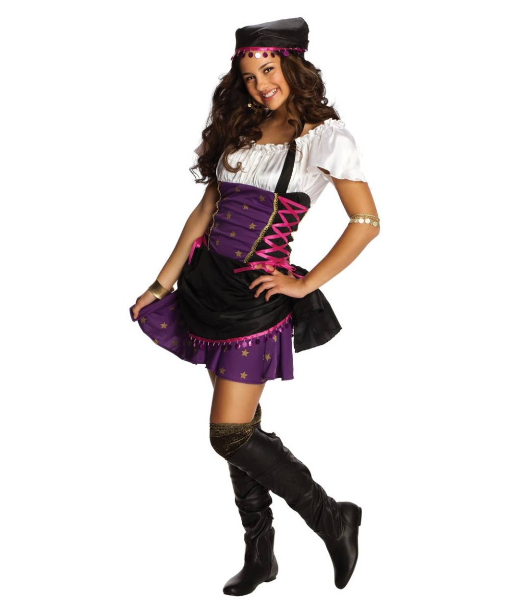 Gypsy Teen Costume  sc 1 st  Halloween Costumes & Gypsy Teen Costume - Girl Gypsy Costumes