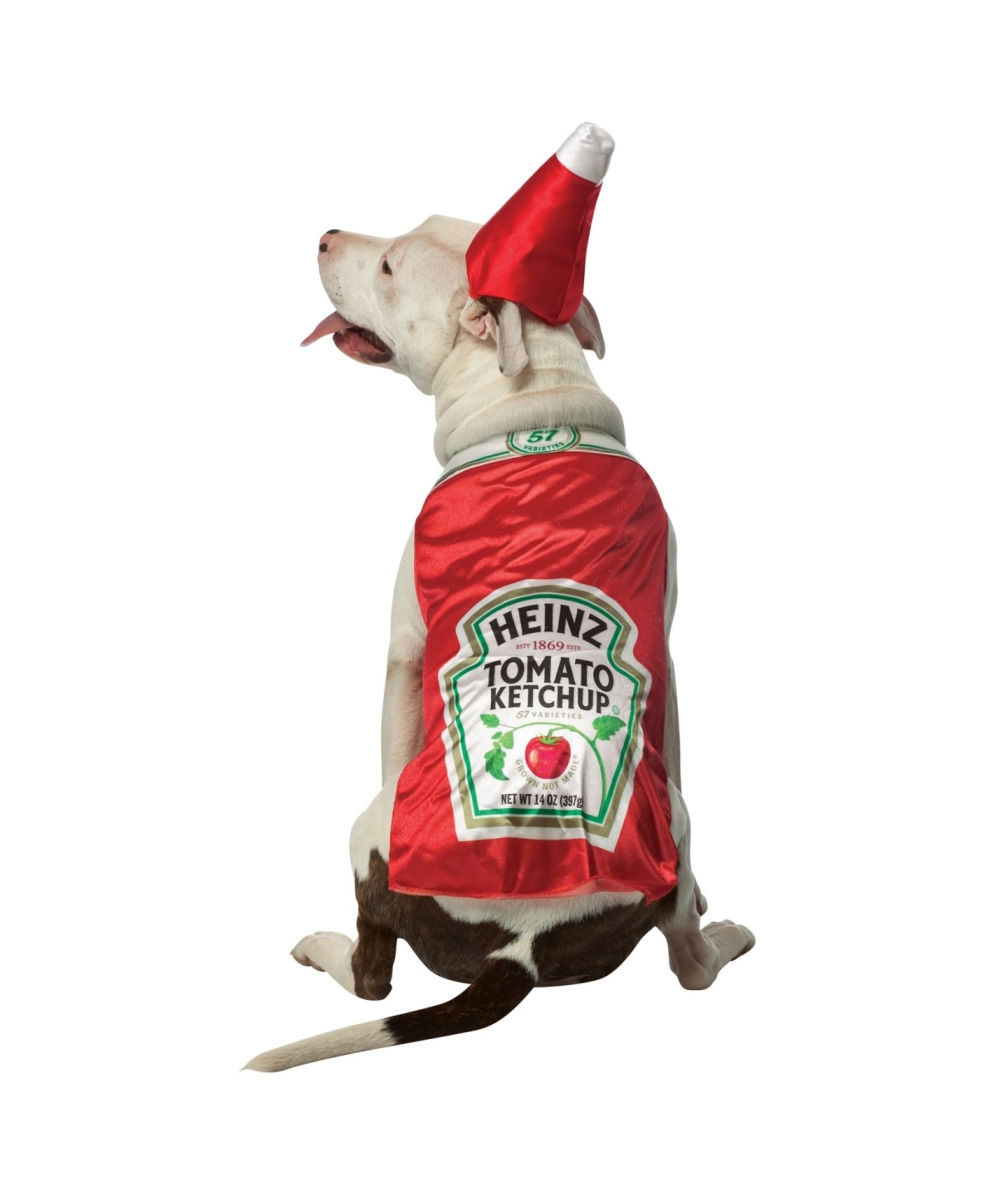 Heinz Ketchup Pet Costume Dog Costumes