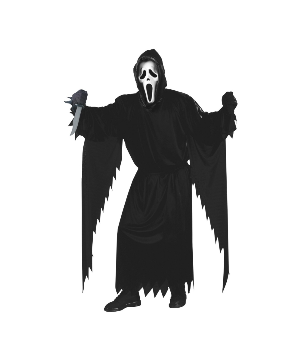 Horror Ghost Face Costume