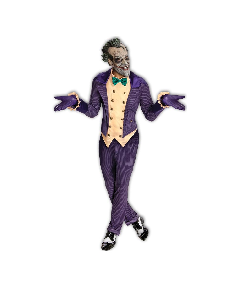 Batman Joker Adult Costume - Men Superhero Costumes