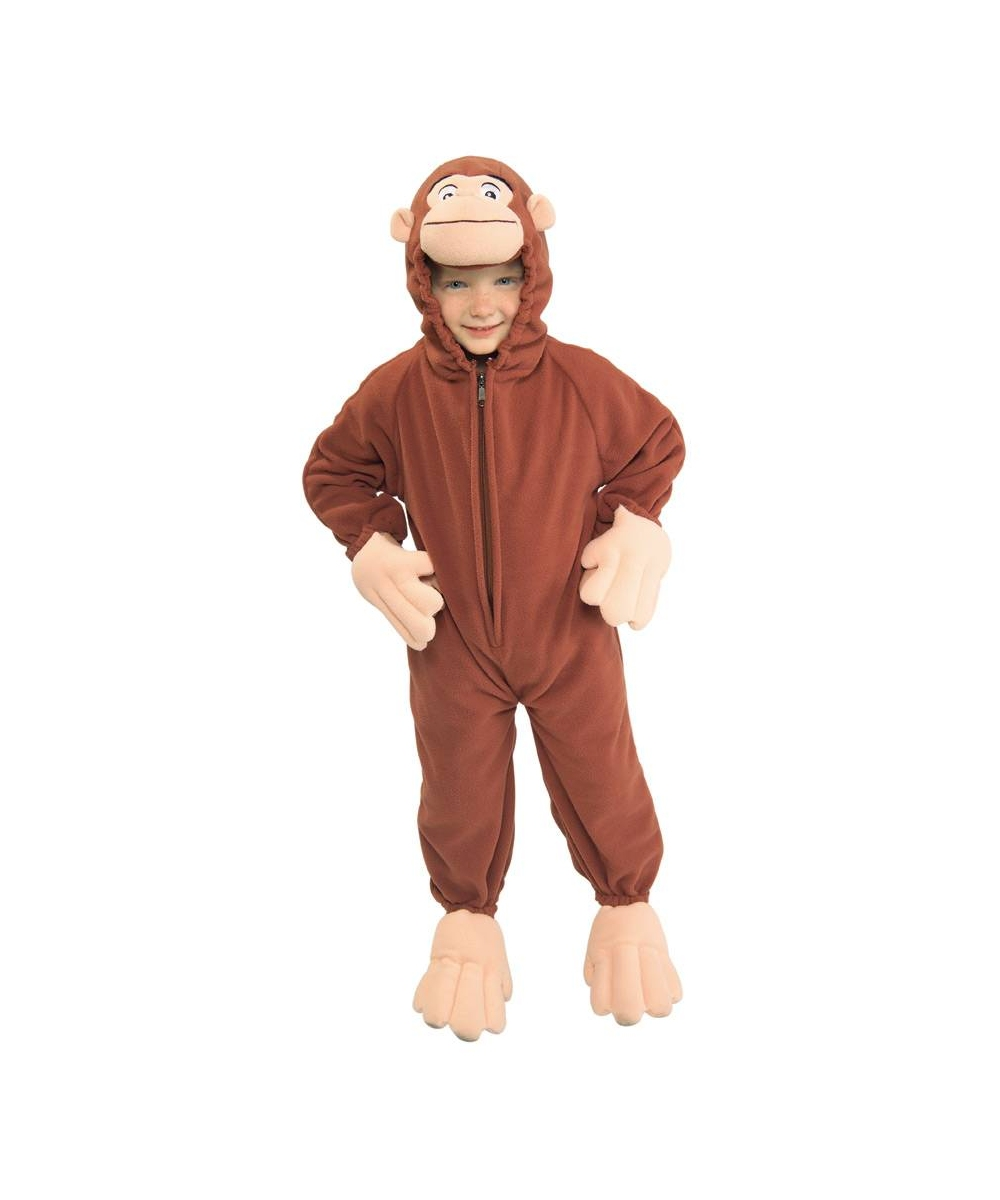 Kids Curious George Costume