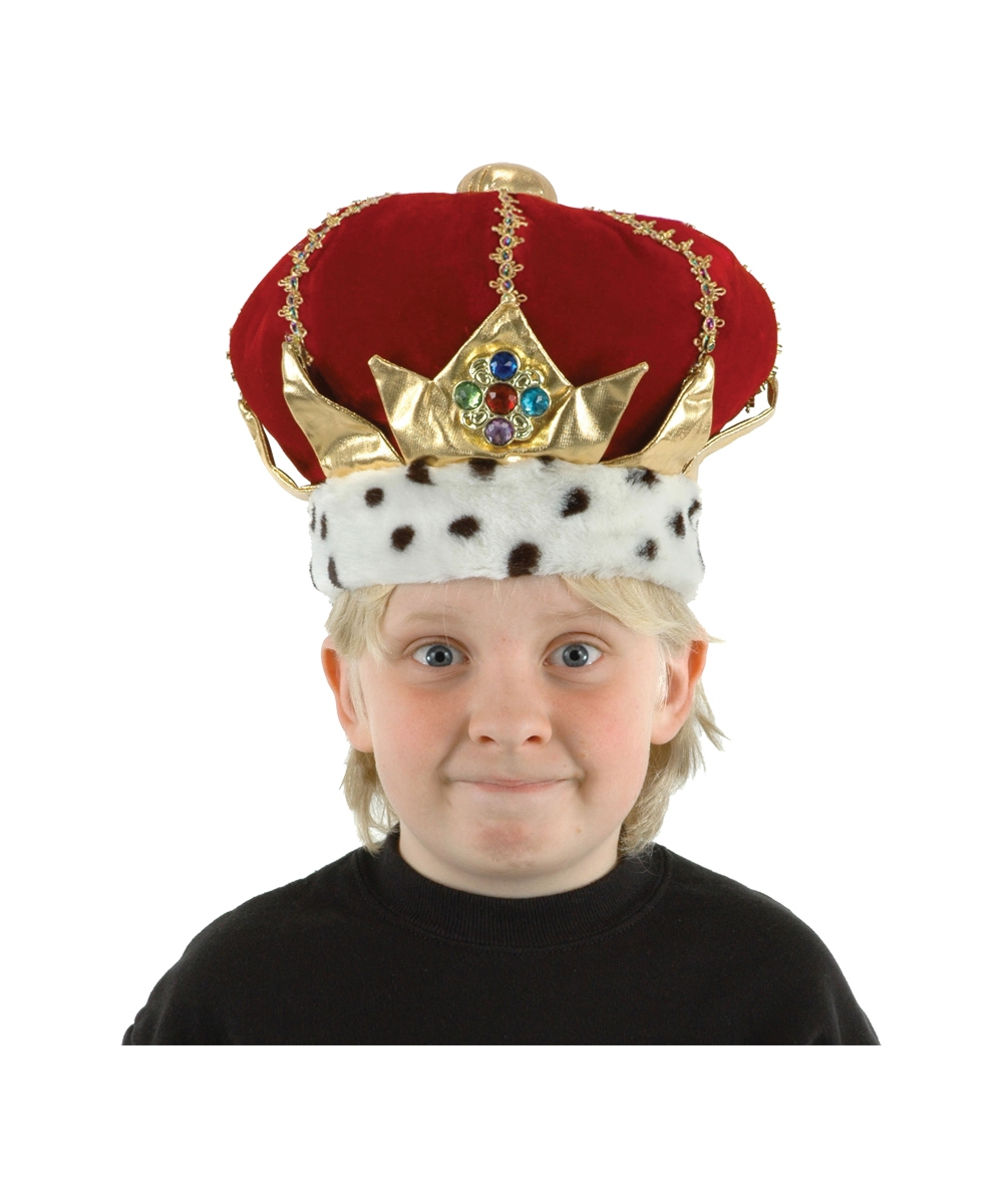 e64686e2808 King Crown - Royal King Hats with Red Turban