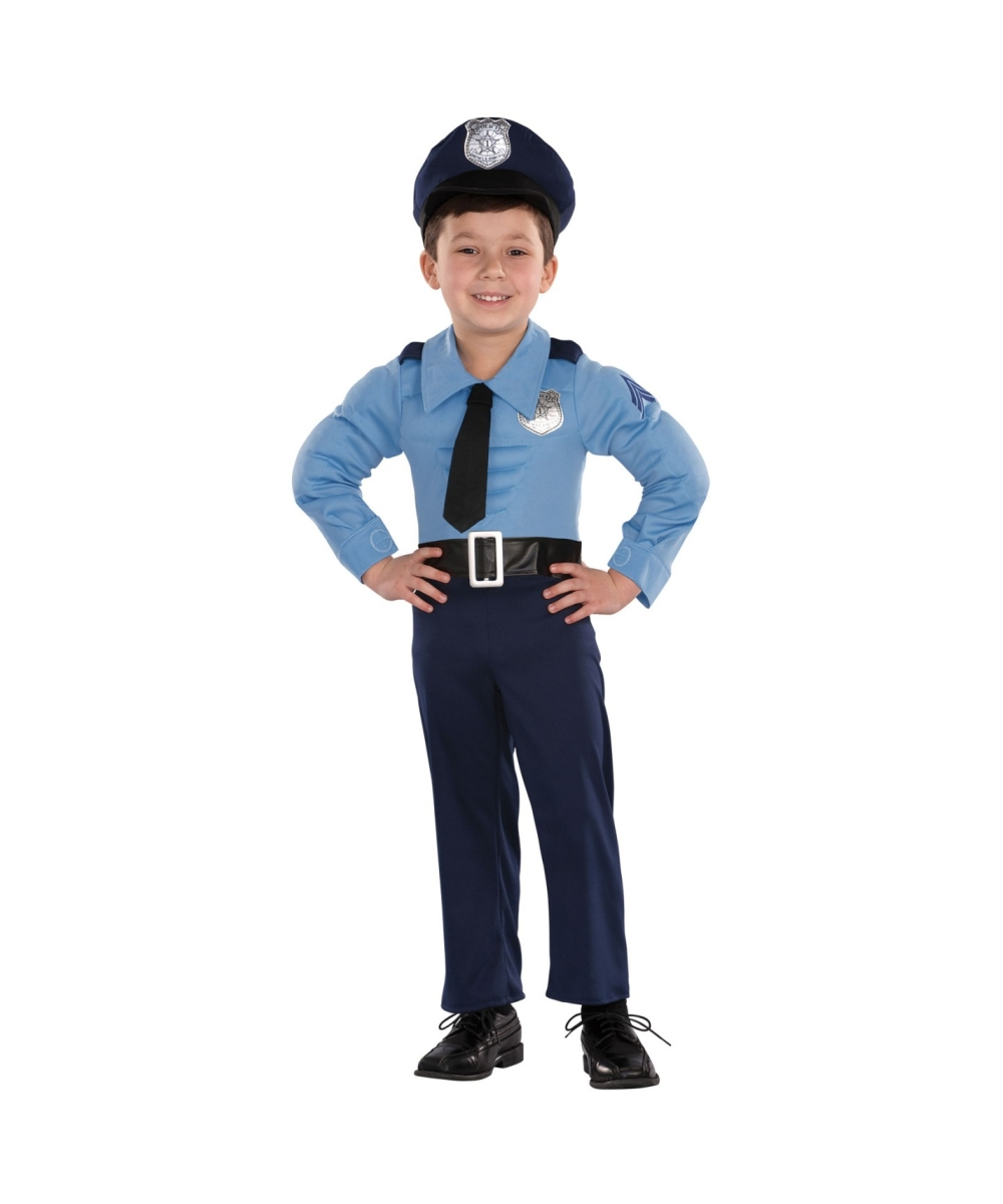sc 1 st  Wonder Costumes & Police Officer Baby Costume - Boys Halloween Costumes
