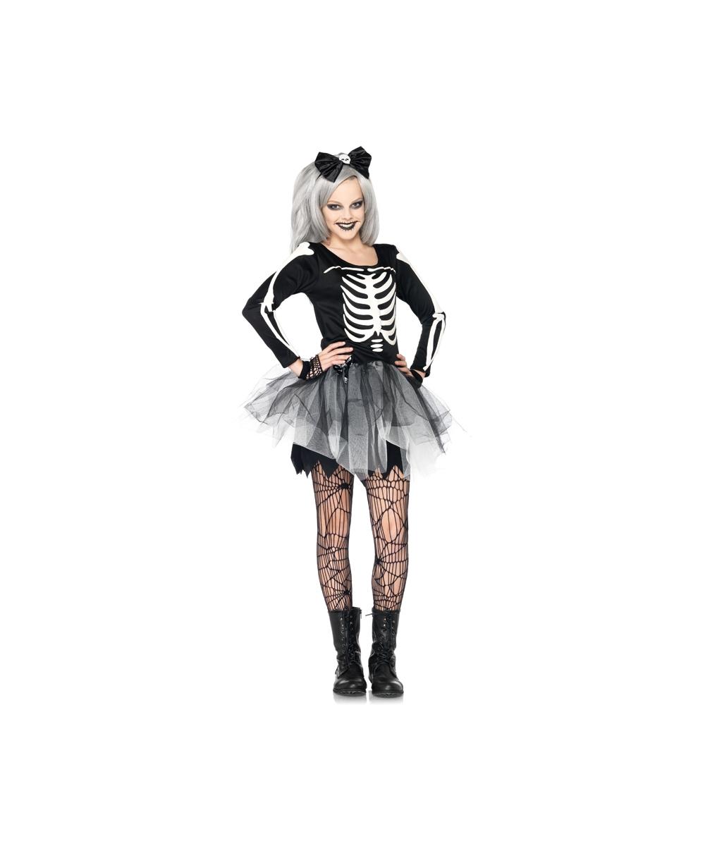 210c0469fc83 Sassy Skeleton Teen Costume - Teen Costumes