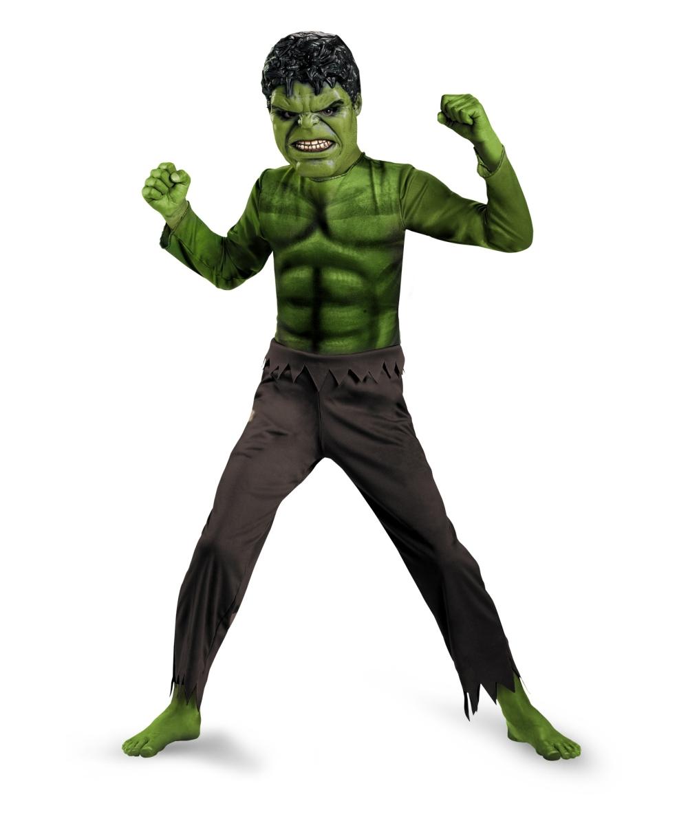 Hulk Halloween Costume Toddler