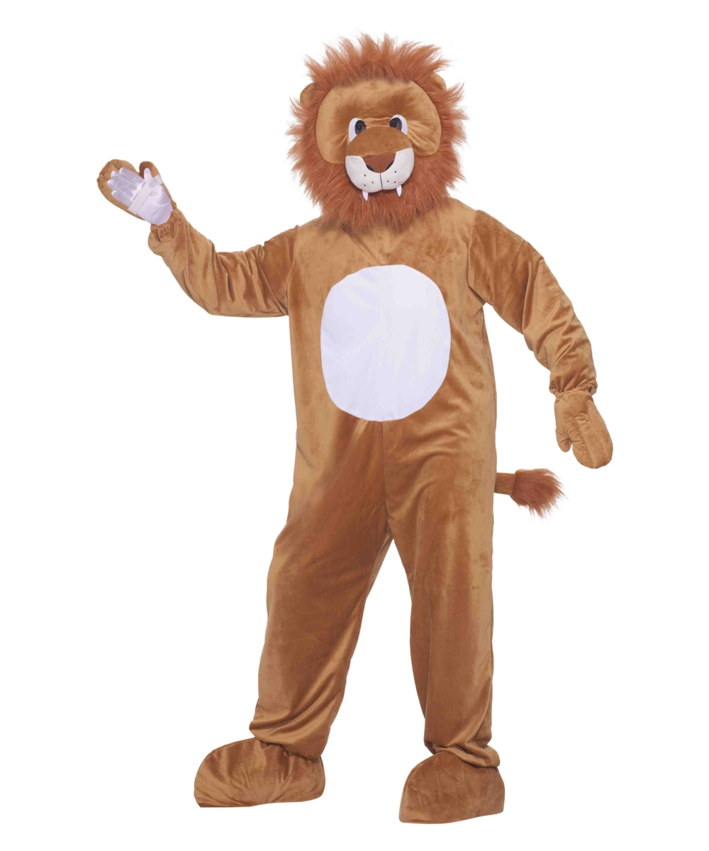 Leo The Lion Mascot Adult Costume  sc 1 st  Wonder Costumes : lion costume for adults  - Germanpascual.Com