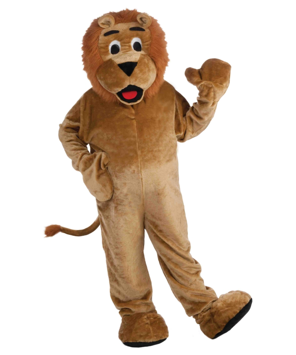 Lion Mascot Adult Costume - Lion Costumes