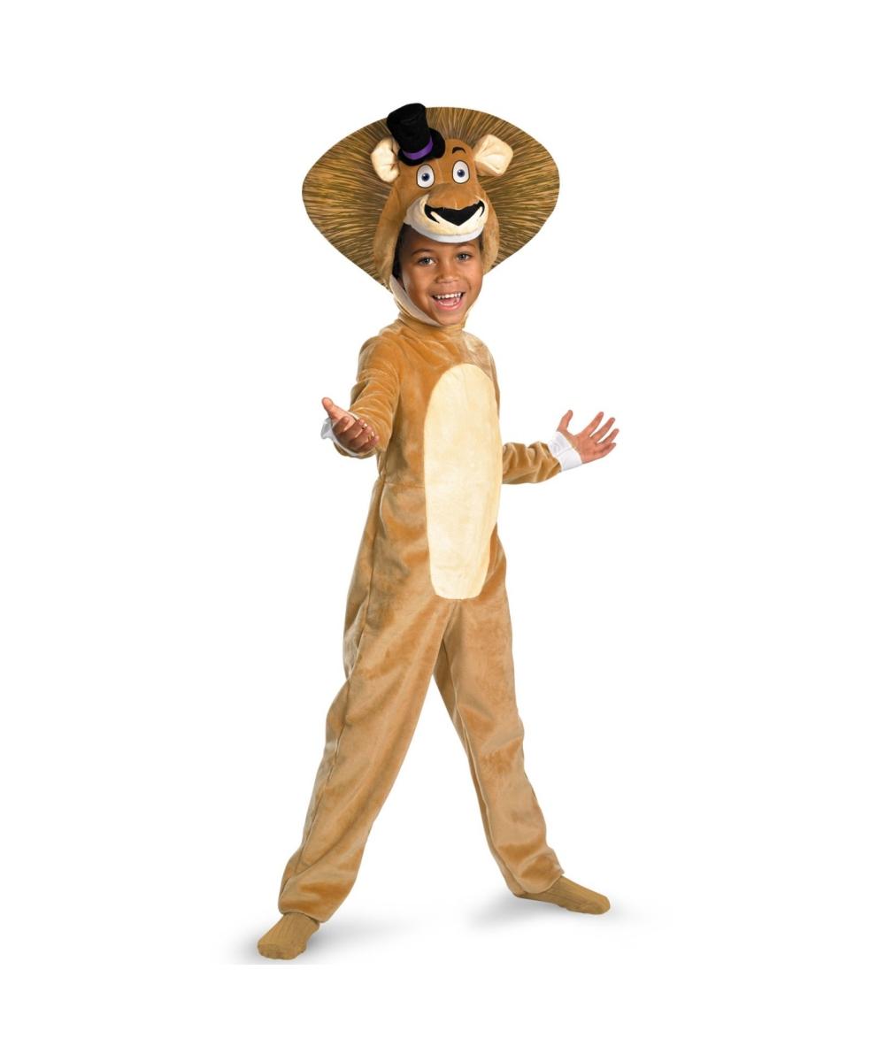 sc 1 st  Wonder Costumes & Madagascar 3 Alex the Lion Kids Animal Costume - Boys Costumes