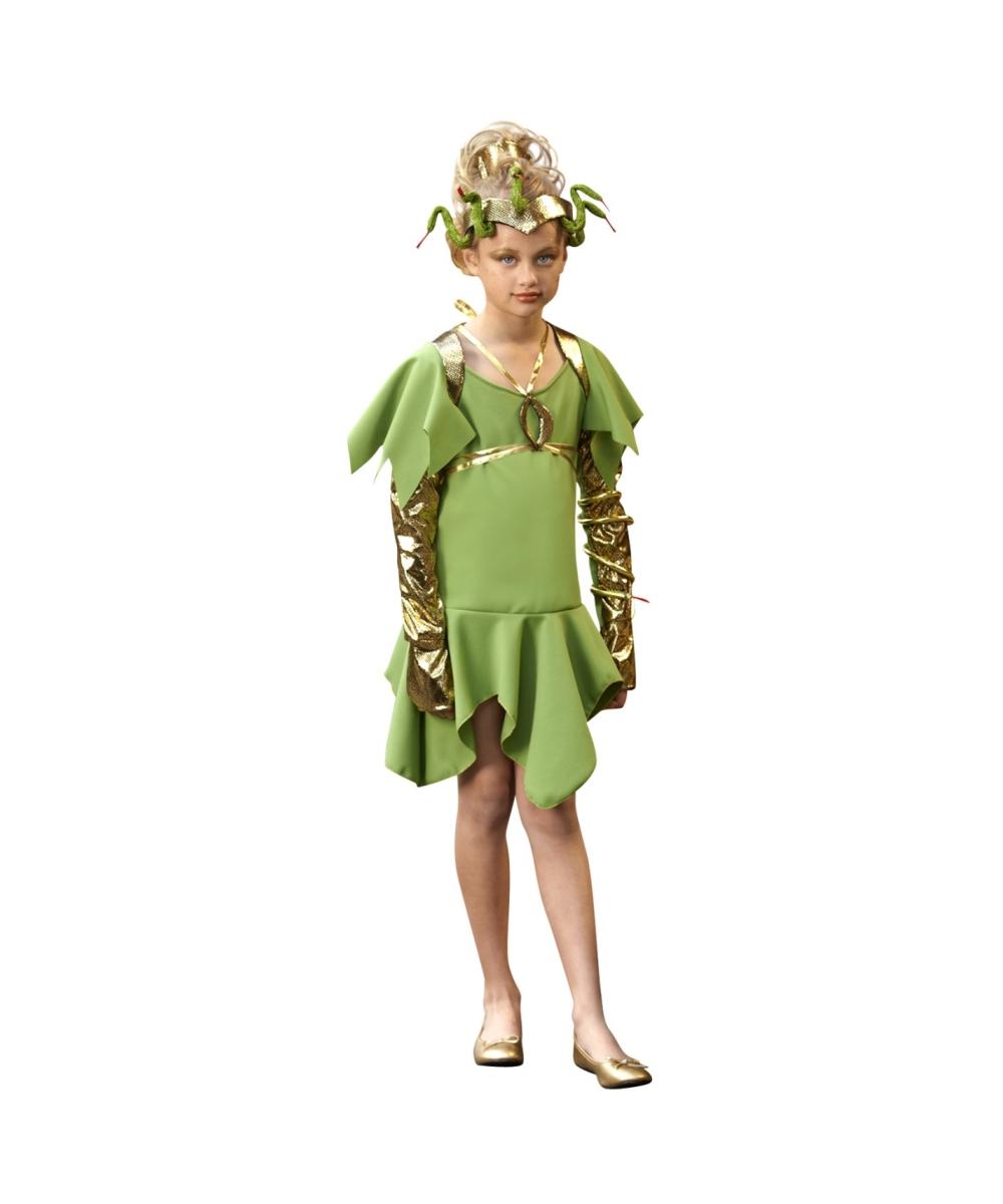 Greek Medusa Girl Costume Girls Greek Costumes