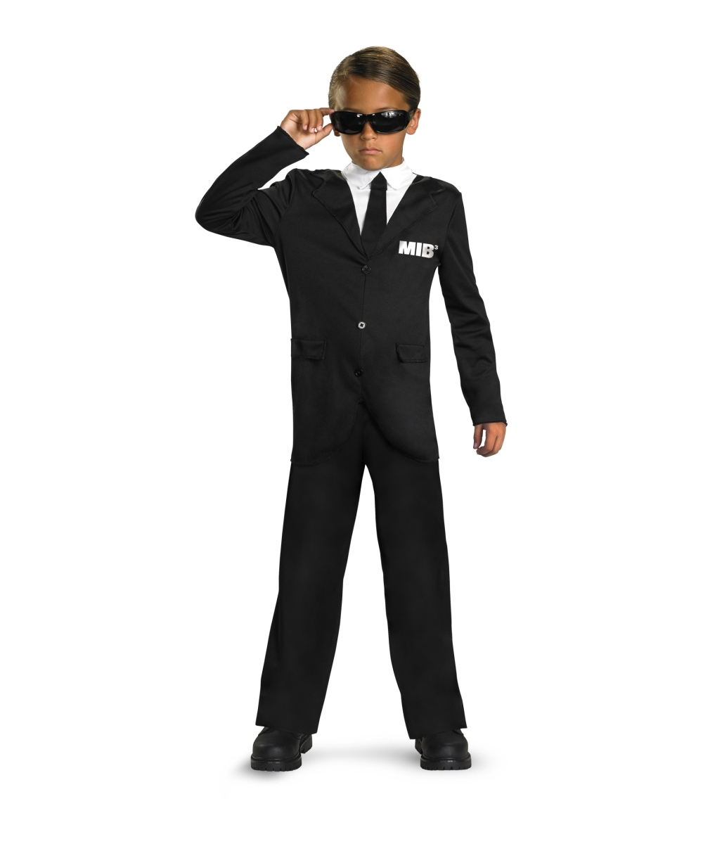 Men in Black 3 Kids Movie Halloween Costume , Halloween Costumes