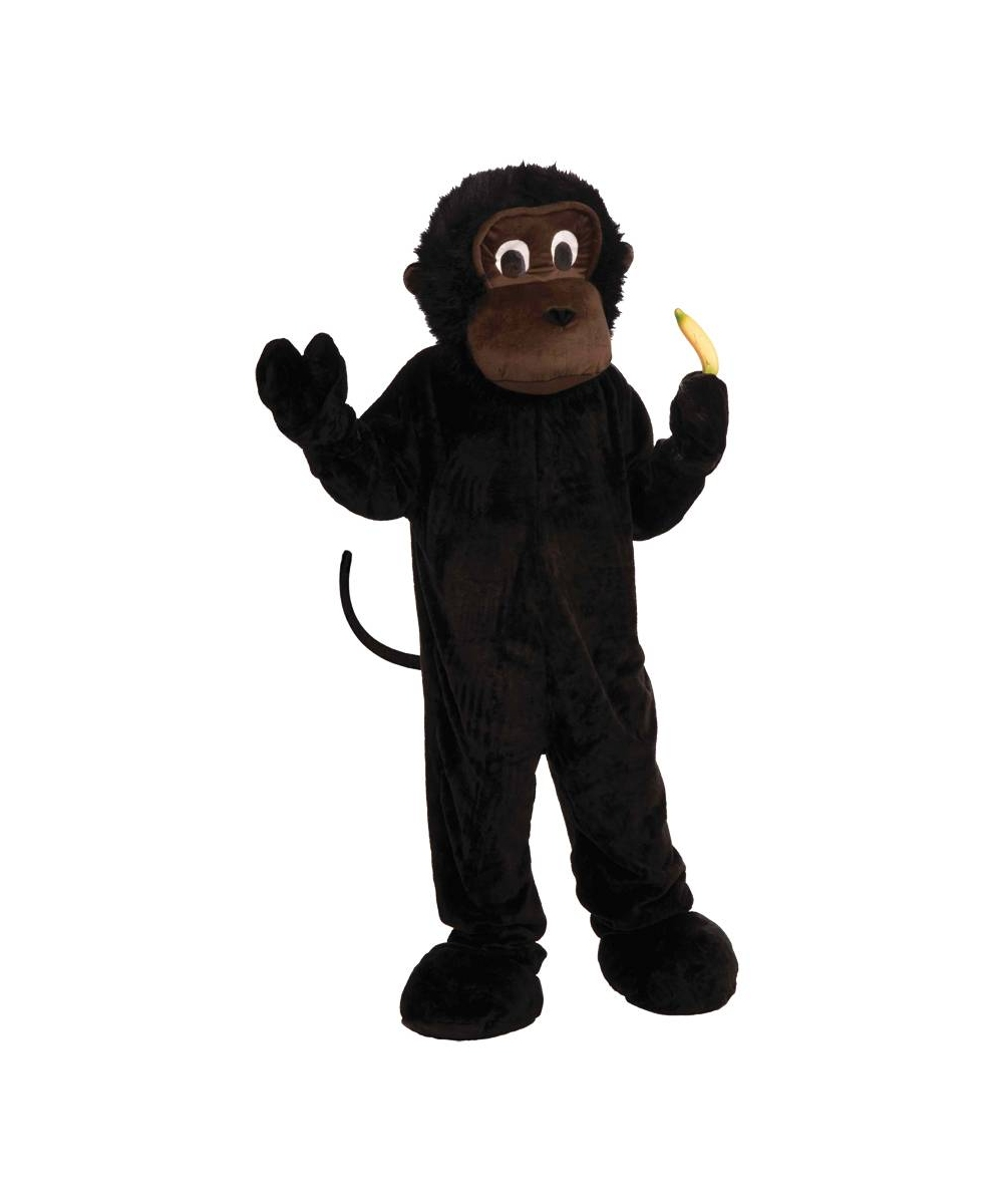 Mens Monkey Mascot Costume