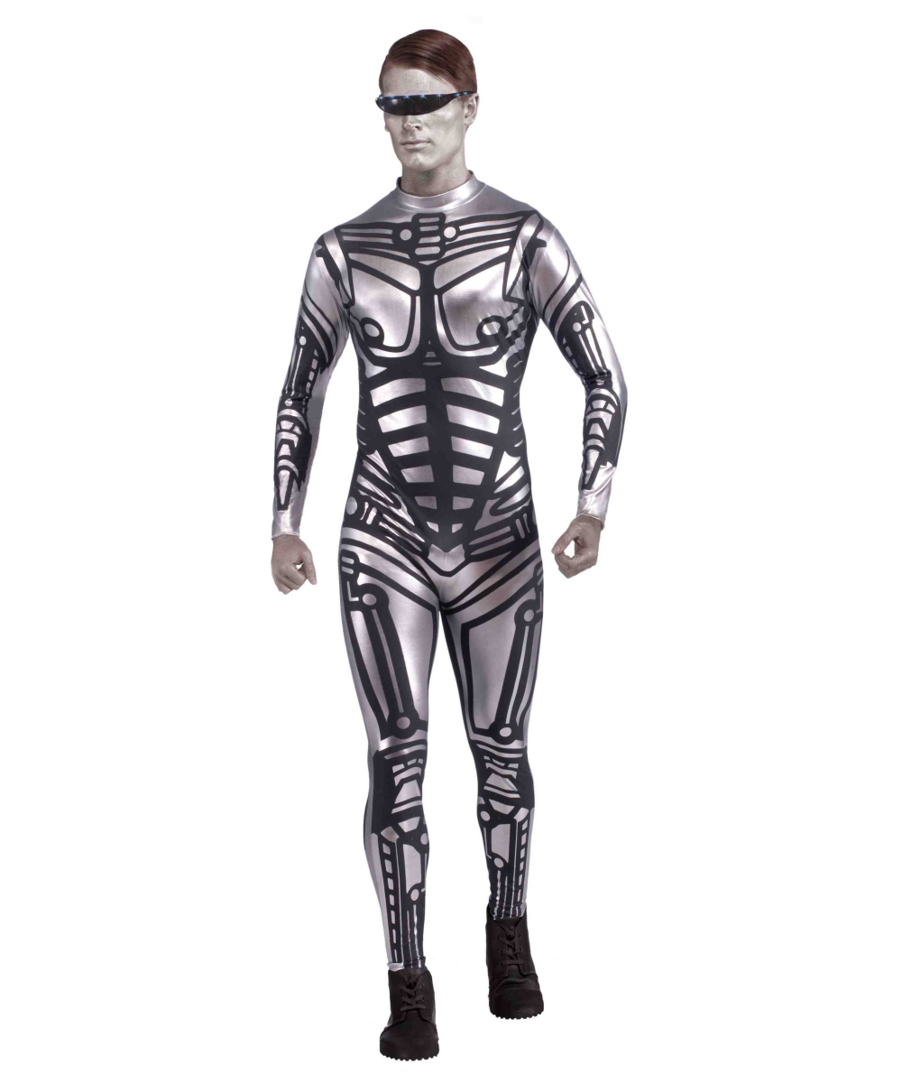 sc 1 st  Halloween Costumes & Male Robot Adult Halloween Costume