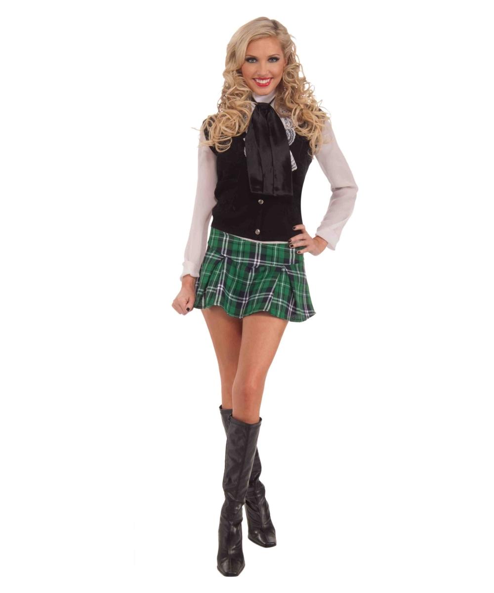 Adult Mini Halloween Kilt Scottish Cosutme Kit