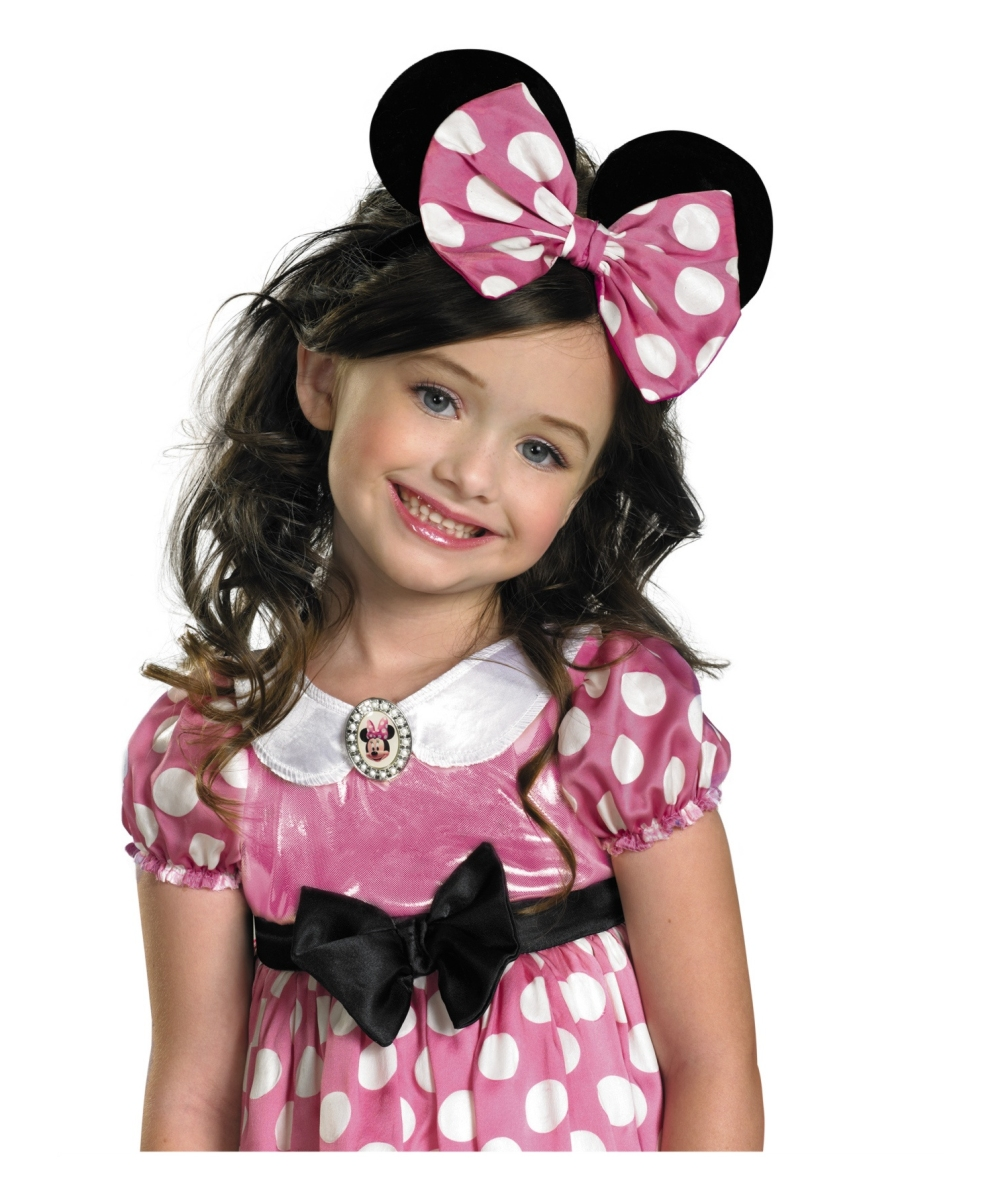 Minnie Mouse Disney Kids Bow - Kids Mouse Costumes