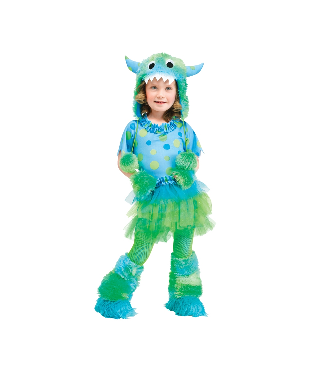 monster miss toddler costume - halloween costumes