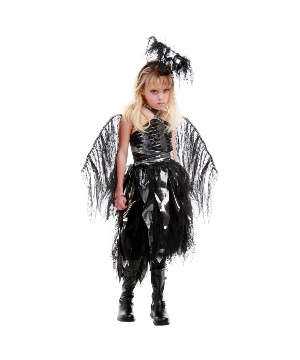 Homemade dark angel halloween costume-7786