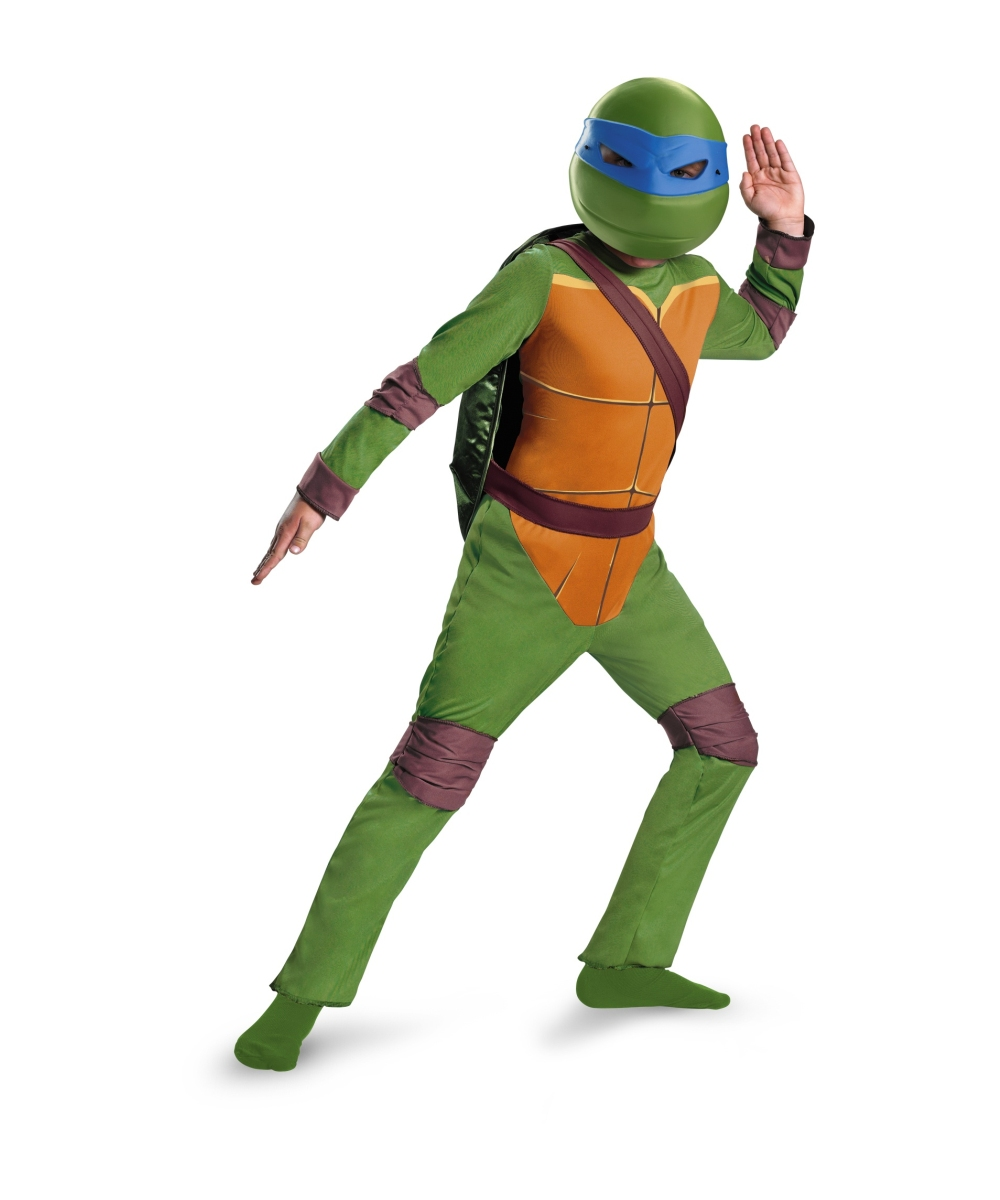 sc 1 st  Wonder Costumes & Ninja Turtles Leonardo Kids Costume - Boys Ninja Costumes