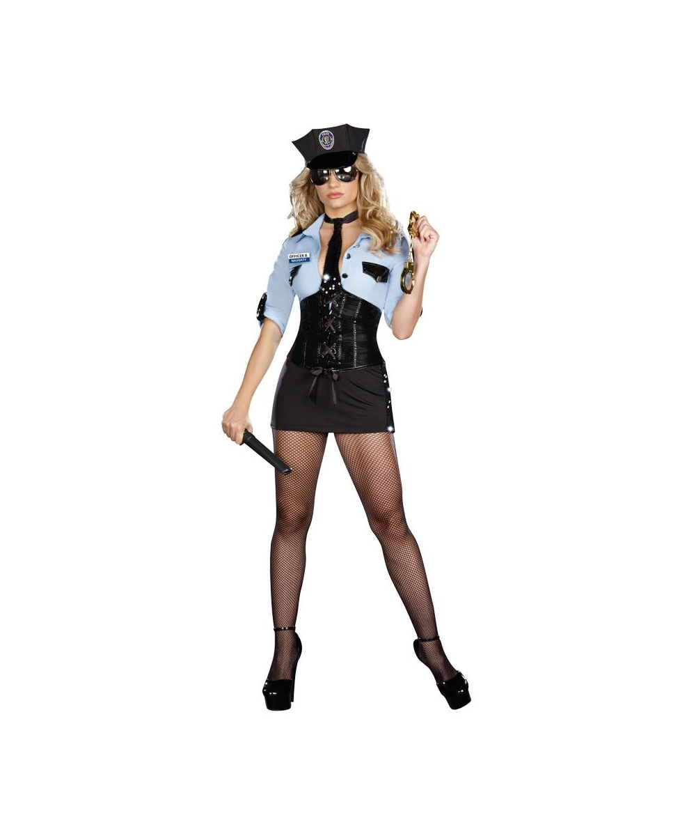 Officer Womens Costume