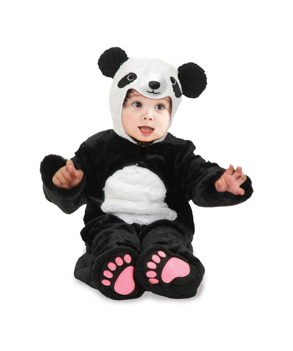 Sure she can go in a terrific panda suit costume, but if she has her heart set on a tutu, you can get her a panda dress look with this panda girl costume! So so SO adorable, this costume is .