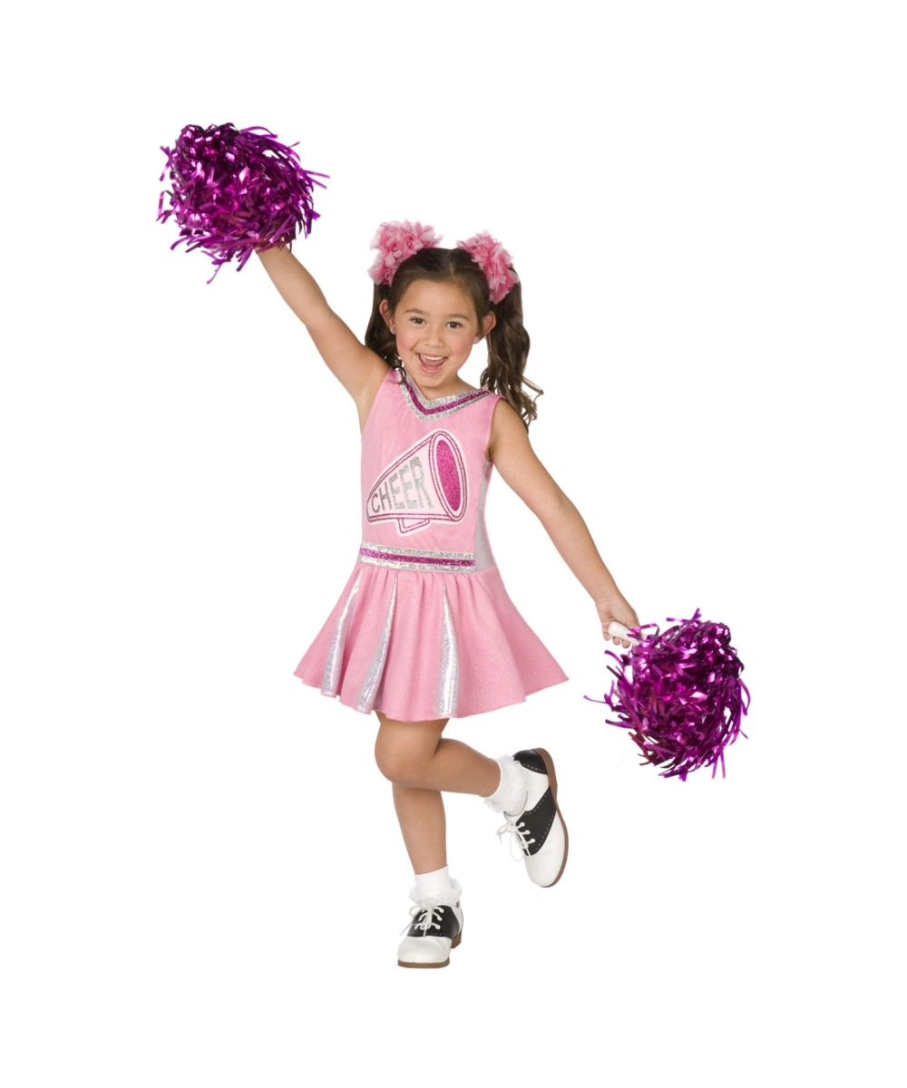 Pink Cheerleader Kids Costume  sc 1 st  Halloween Costumes & Cheerleader Pink Kids Costume - Girl Cheerleader Costumes