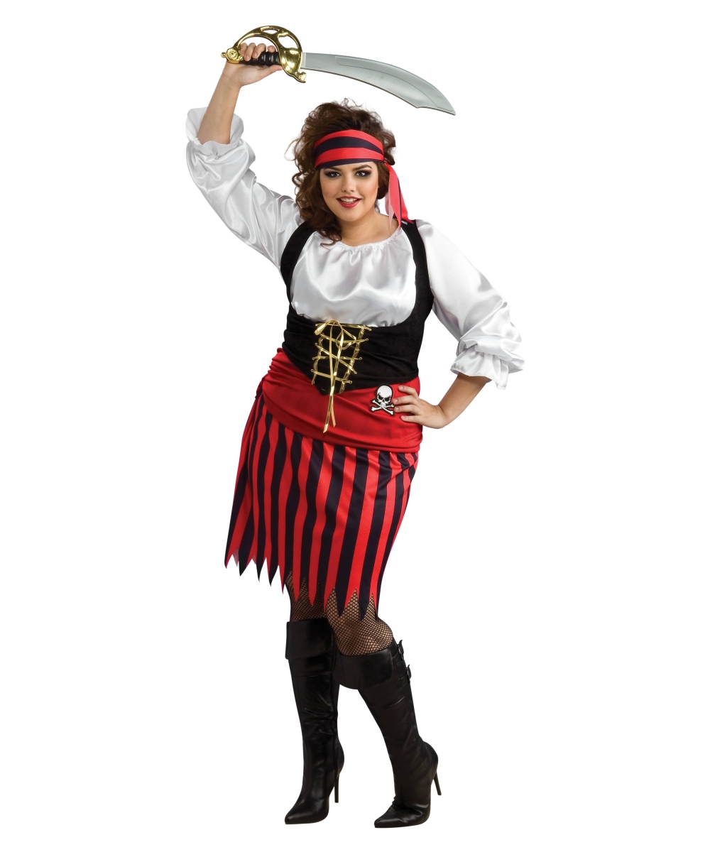 1544b5e9c32 Pirate Woman plus size Costume - Women Costumes