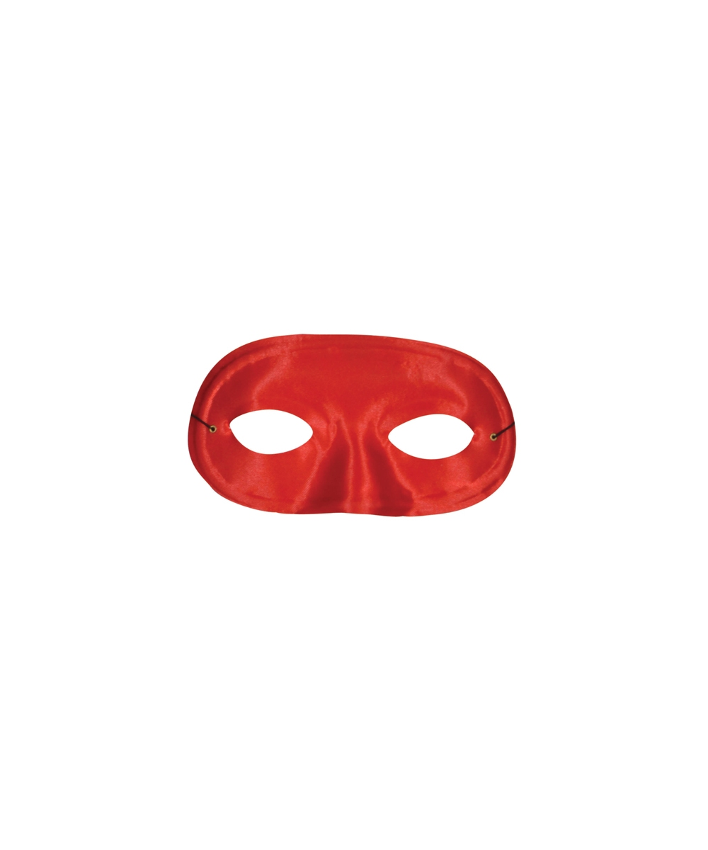 Red Satin Masquerade Mask