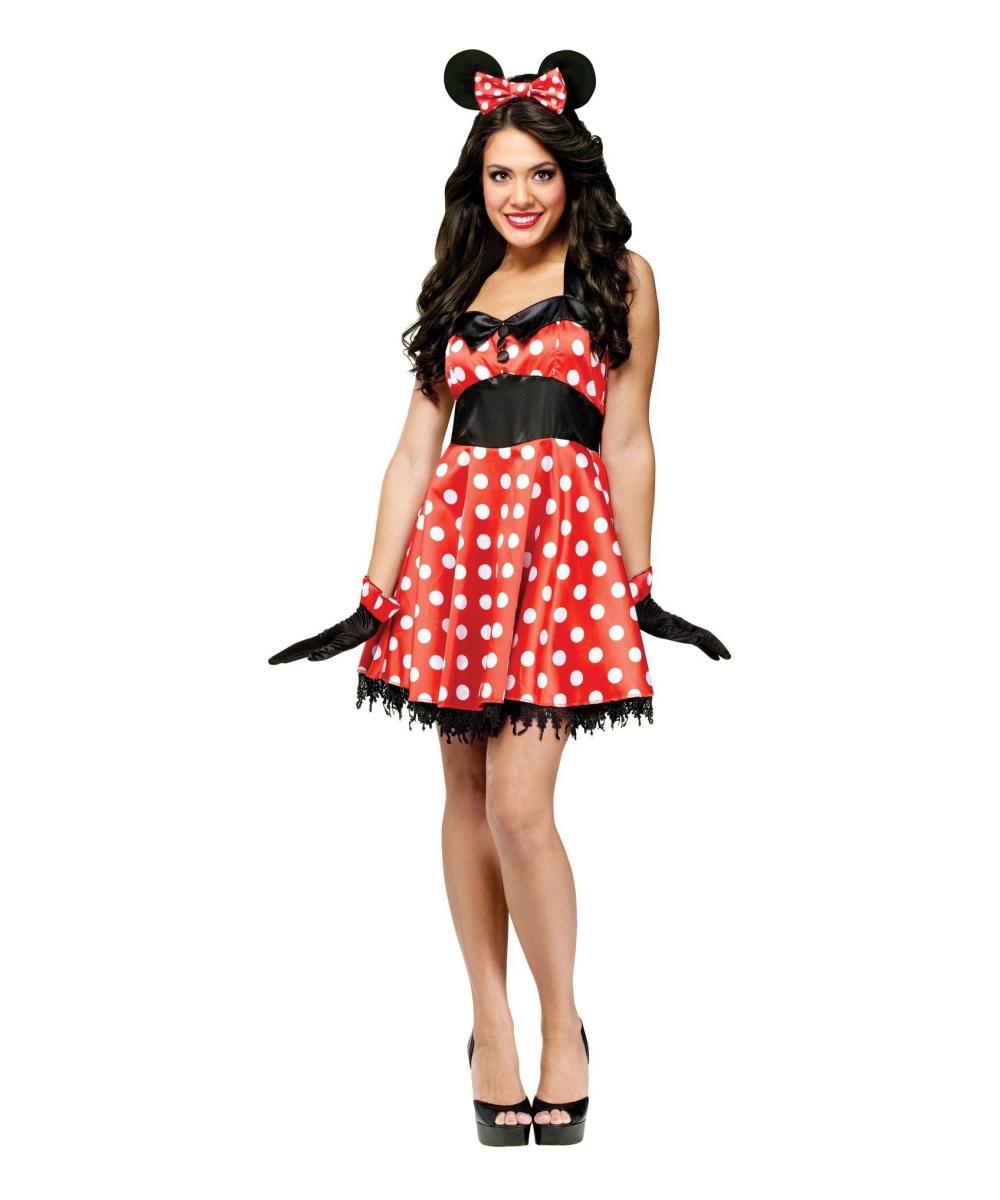 Minnie Mouse Halloween Costume Women
