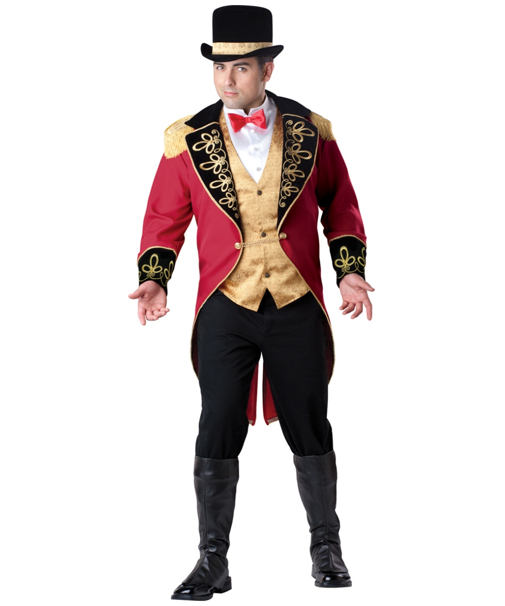 Ringmaster Adult Costume Ptrapsc on costume jewelry of the 1950s