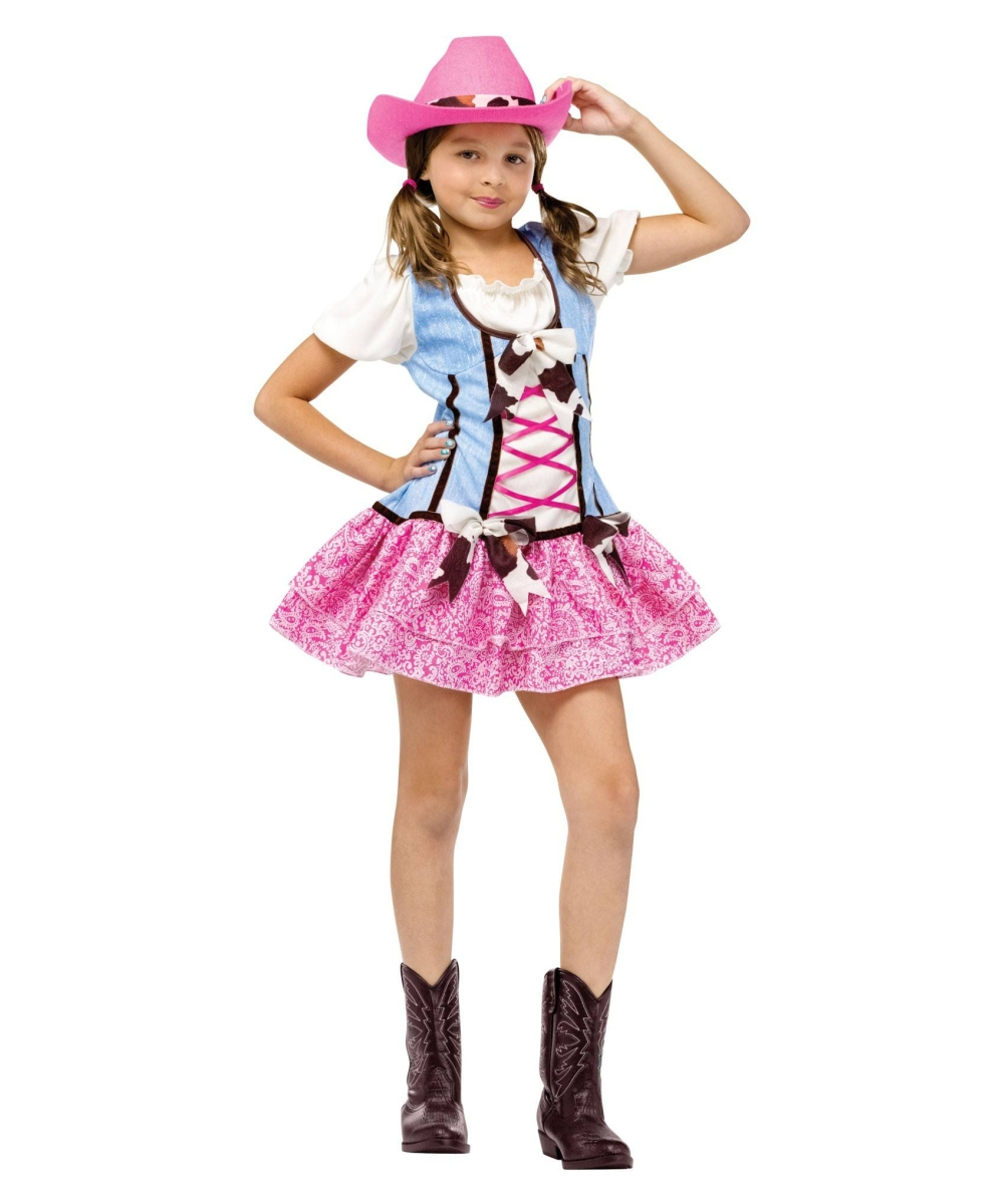 cowgirl rodeo sweetie kids costume girls halloween costumes