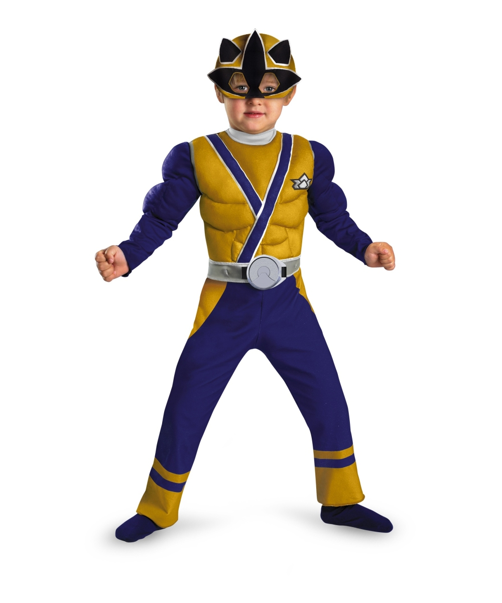 Samurai Gold Ranger Toddler Boys Costume