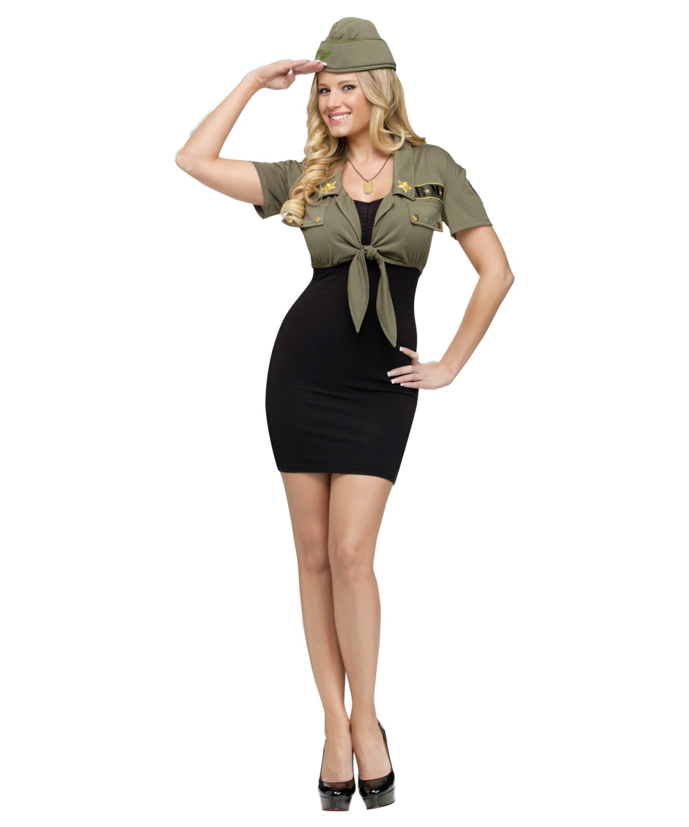 sc 1 st  Wonder Costumes & Army Sexy Adult Costume Kit - Women Army Costumes