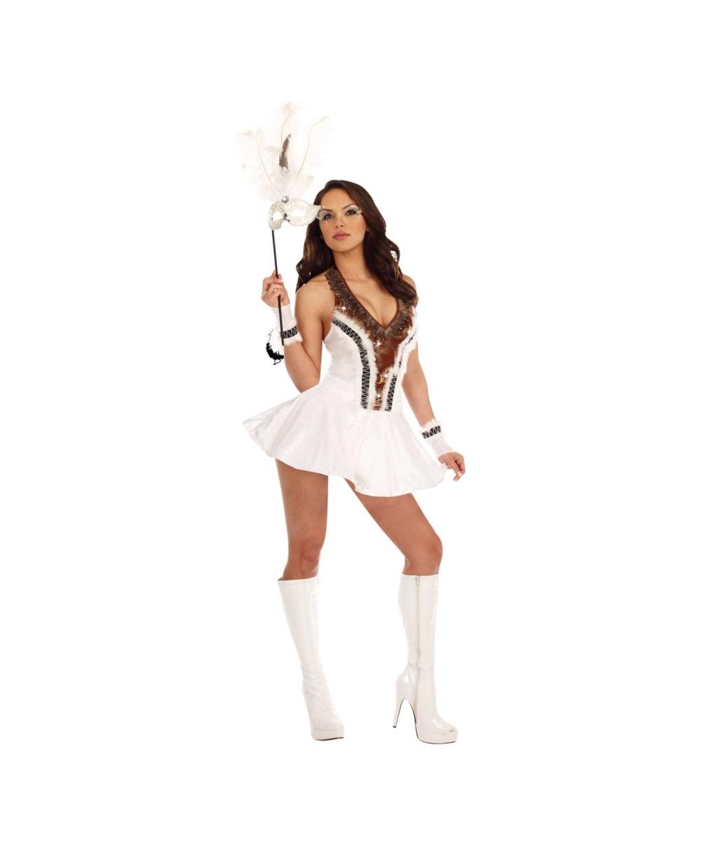 sc 1 st  Wonder Costumes & Snow Owl Costume - Adult Costumes