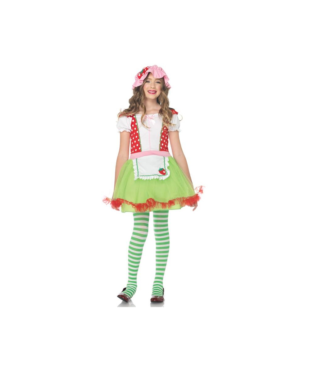 Strawberry Kids Costume
