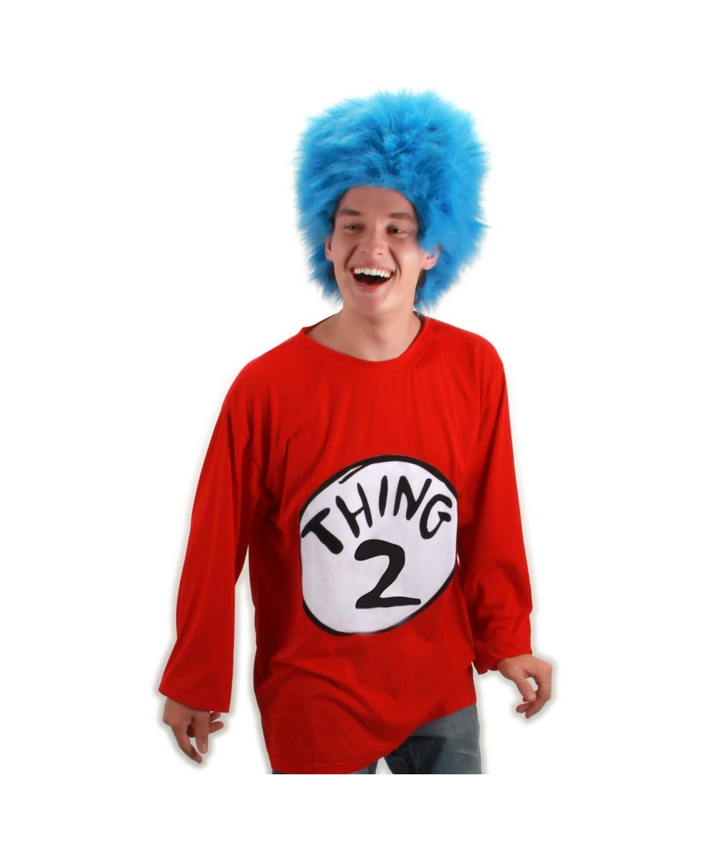 Adult Thing 2 plus size Seuss Cat in the Hat Costume Kit 1fbfadfae6