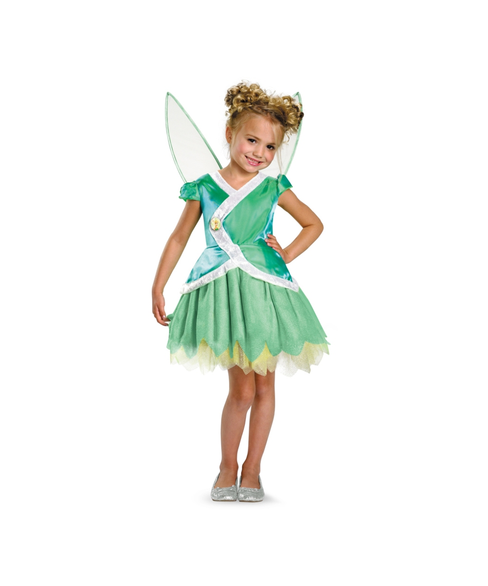 sc 1 st  Halloween Costumes & Tinkerbell Kids Disney Costume - Girls Disney Tinker Bell Costumes