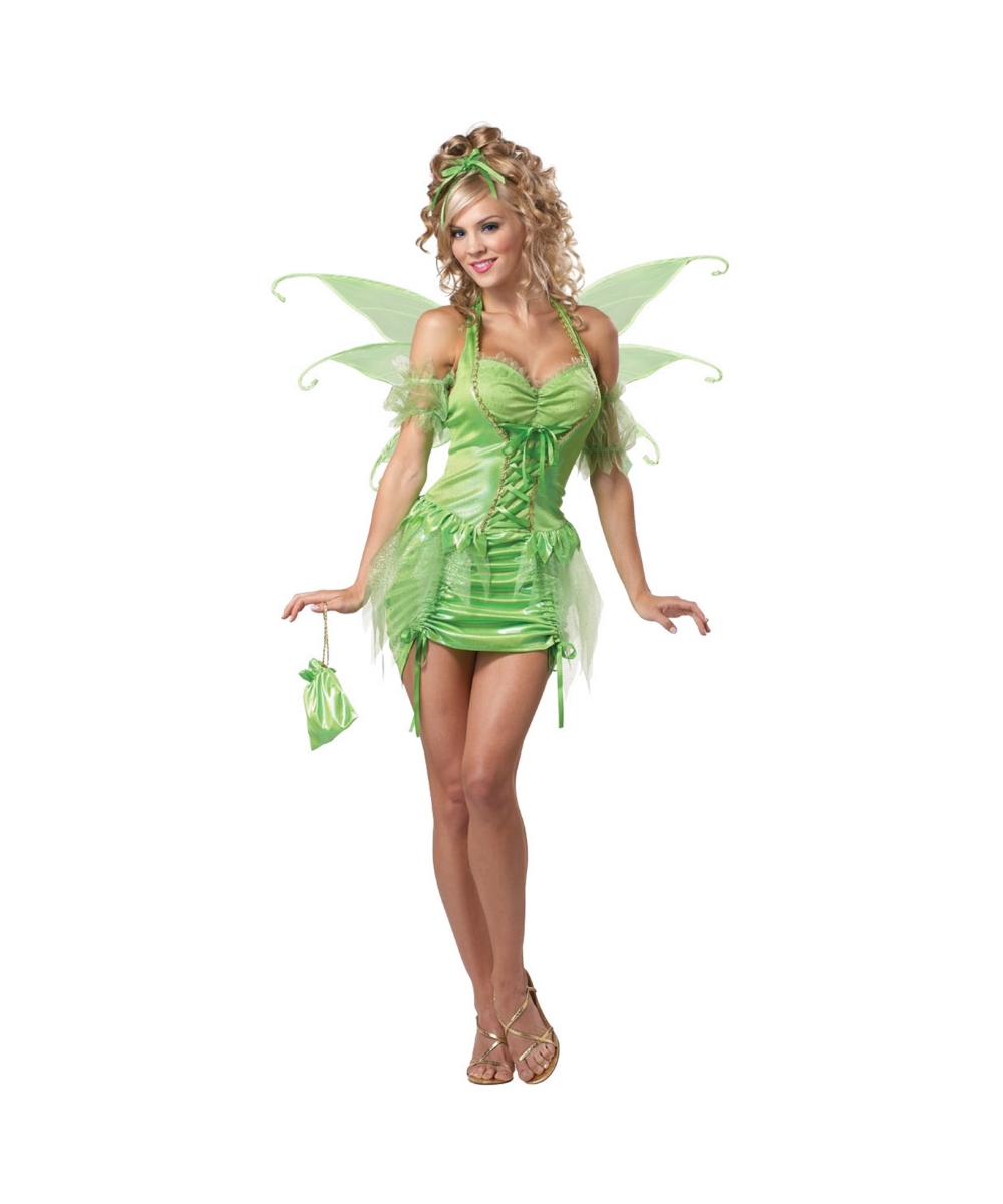most popular huge selection of elegant shoes Adult Tinkerbell plus size Disney Costume - Fairy Costumes