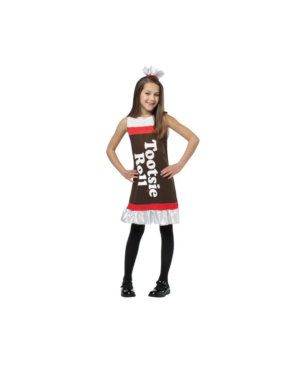Tootsie Roll Girl Costume