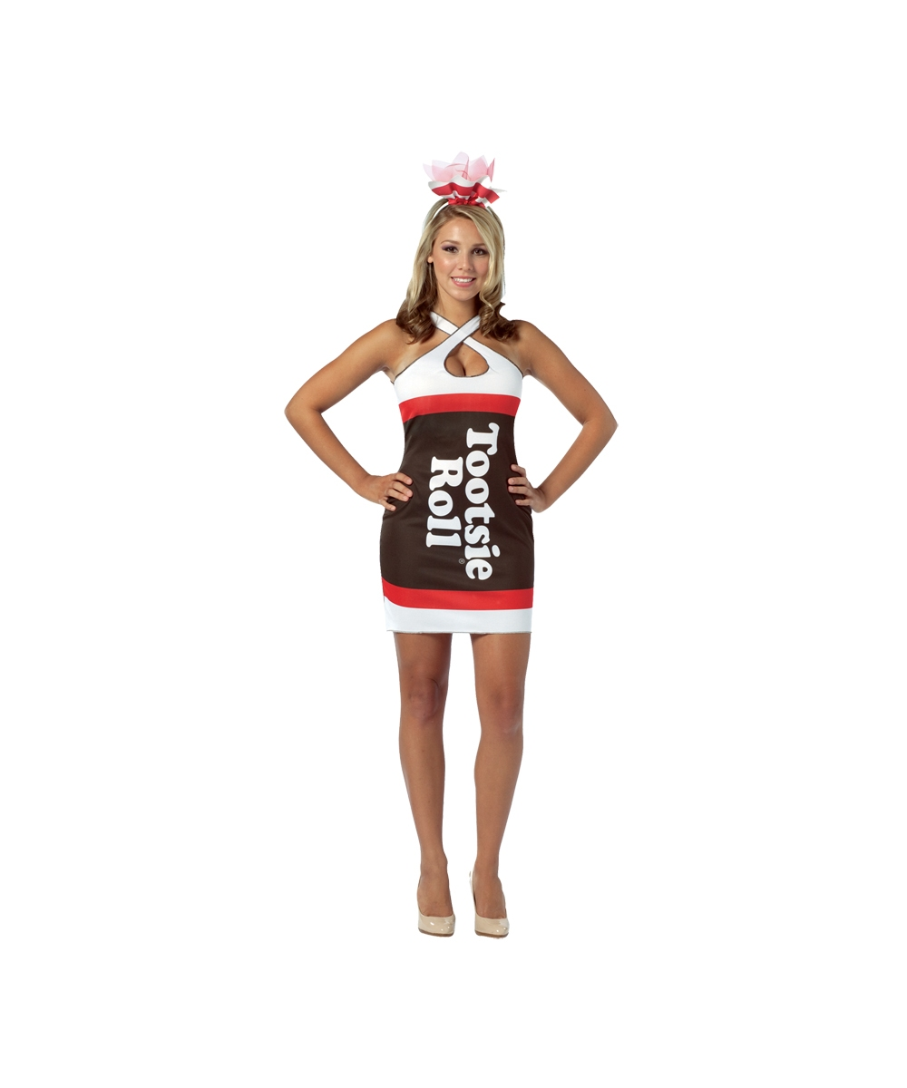Tootsie Roll Womens Costume